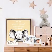 Baby Elephant Small Photo Frame by Splosh