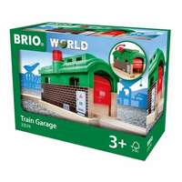 BRIO World Destination - Train Garage