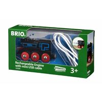BRIO World Train - Rechargeable Engine with Mini USB Cable