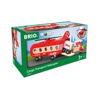 BRIO World Vehicle - Cargo Transport Helicopter