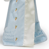 Bunnies By The Bay Buddy Blanket - Blue Bud Bunny