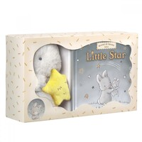 Bunnies By The Bay Cricket Island Gift Set - Little Star Book & Bloom Plush