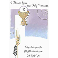 To Celebrate Your First Holy Communion Card