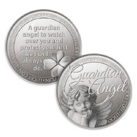 Lucky Coin Card - Guardian Angel