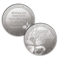 Lucky Coin Card - Happy 18th