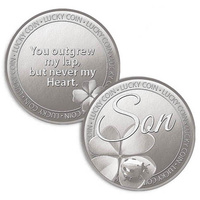 Lucky Coin Card - Son