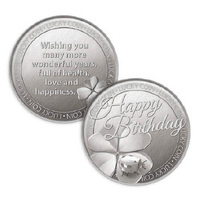 Lucky Coin Card - Happy 40th