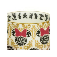 English Ladies Minnie Mouse Modern - Cup And Saucer - Tea Set