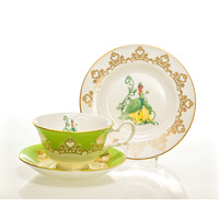 English Ladies The Princess and the Frog - Tiana - 16cm Plate