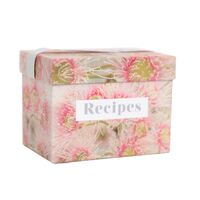 Flourish Recipe Box by Splosh