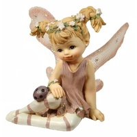 Set of 4 assorted fairies - Sitting