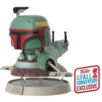 Pop! Vinyl - Star Wars - Boba Fett with Slave One NYCC 2017 US Exclusive Deluxe