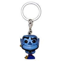 Pop! Vinyl Keychain - Disney Aladdin - Genie Metallic US Exclusive
