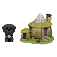 Pop! Vinyl - Harry Potter - Fang with Hagrid's Hut