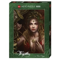 Heye Puzzle 1000pc - Forgotten by Chris Ortega - Gold Jewellery