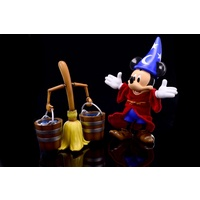 Herocross Hybrid Metal Figure #009 Sorcerer Mickey & The Magic Broom
