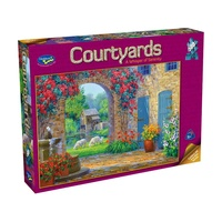 Holdson Courtyards A Whisper Of Serenity Puzzle 500 Pieces