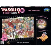Wasgij? Puzzle 1000pc - Destiny 18 - Fast Food Frenzy