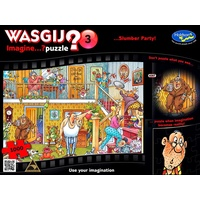 Wasgij? Puzzle 1000pc - Imagine 3 - Slumber Party