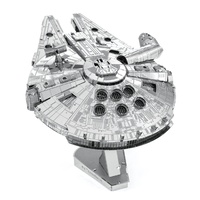 Metal Earth - 3D Metal Model Kit - Star Wars - Iconx Millennium Falcon