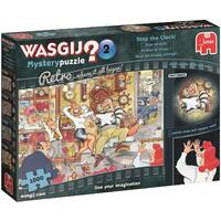 Wasgij? Puzzle 1000pc - Retro Mystery 2 - Stop The Clock!