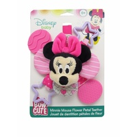 Disney Baby Mini Mouse Bow Cute - Petal Teether Rattle
