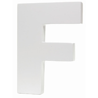 Splosh Large Decorative Letter - F