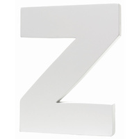 Splosh Large Decorative Letter - Z