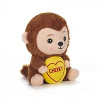 Swizzles Love Hearts Plush - Cheeky Monkey