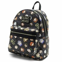 Loungefly Harry Potter - Chibi Character Print Mini Backpack