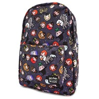 Loungefly Disney Harry Potter - Chibi Print Backpack