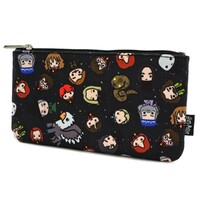 Loungefly Harry Potter - Chibi Print Pencil Case