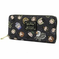 Loungefly Harry Potter - Chibi Print Zip-Around Wallet