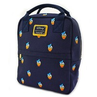 Loungefly Disney Donald Duck - Donald Head Print Mini Backpack