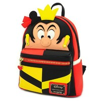 Loungefly Disney Alice in Wonderland - Queen of Hearts Mini Backpack