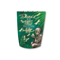 Lisa Pollock Paper Lantern - Dance in the Forest that is you Life