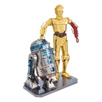 Metal Earth - 3D Metal Model Kit - Star Wars - C-3PO & R2-D2