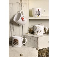 Royal Worcester Wrendale Awakening Mug