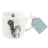 Royal Worcester Wrendale Lady of the House Cat Mug