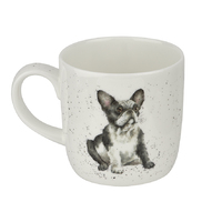 Royal Worcester Wrendale Frenchie Mug