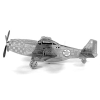 Metal Earth - 3D Metal Model Kit - Mustang P-51