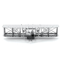 Metal Earth - 3D Metal Model Kit - Wright Brothers Airplane