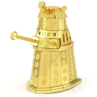 Metal Earth - 3D Metal Model Kit - Doctor Who - Gold Dalek