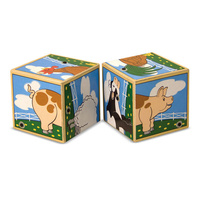 Melissa & Doug Sound Blocks - Farm Animals