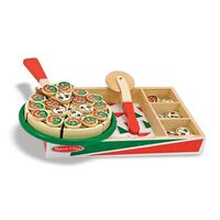 Melissa & Doug - Pizza Party Cutting Food