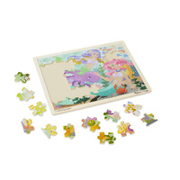 Melissa & Doug Jigsaw Puzzles - Mermaid Fantasea 48 Pieces