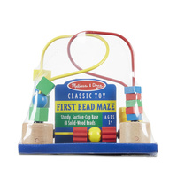 Melissa & Doug Classic Toy - First Bead Maze