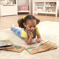 Melissa & Doug Natural Play Book Bundle - Wonderful World 3 Pack