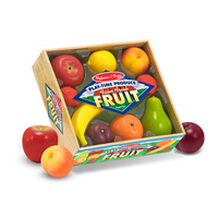 Melissa & Doug Kitchen Play - Play-Time Produce Farm Fresh Fruit