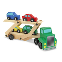 Melissa & Doug Classic Toy - Car Carrier